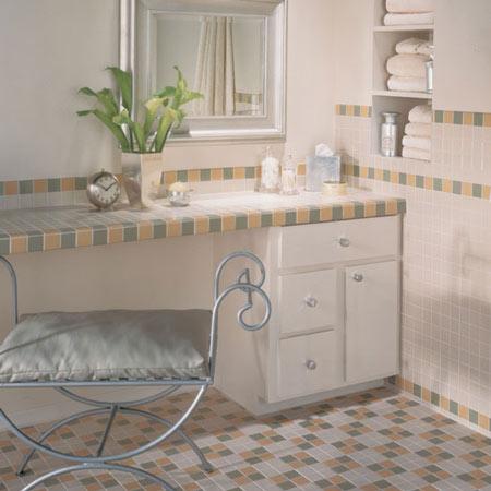 Bathrooms flooring idea permabrites by daltile tile for Daltile bathroom tile designs