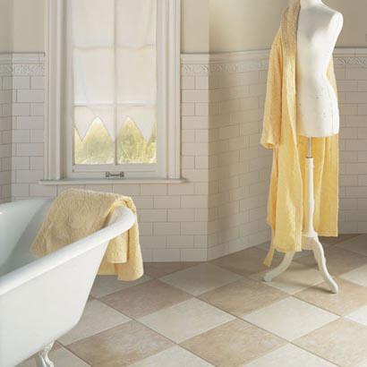 Bathrooms flooring idea rittenhouse square by daltile tile for Daltile bathroom ideas