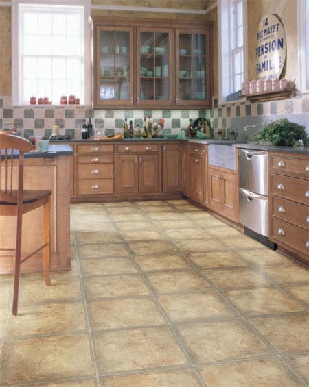 Kitchens Flooring Idea Chambeau By Domco Vinyl Flooring - Domco vinyl flooring