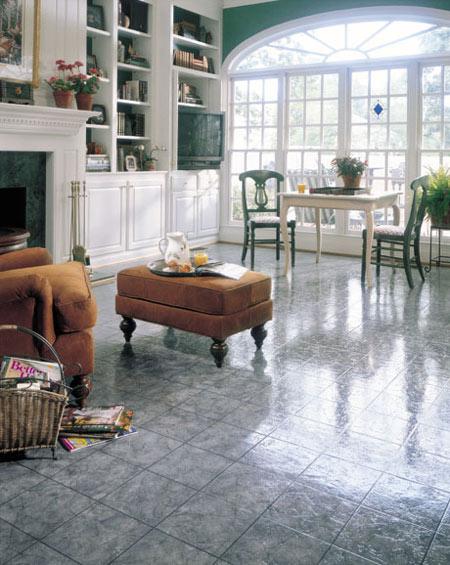 Family Room Dens Flooring Idea Grandview By Domco Vinyl Flooring - Domco vinyl flooring