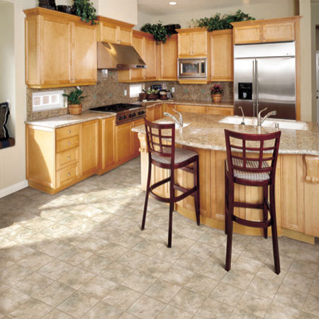 Kitchens Flooring Idea Mt Vernon By Domco Vinyl Flooring - Domco vinyl flooring