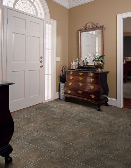 Foyers Entry Flooring Idea Pavarra By Domco Vinyl Flooring - Domco vinyl flooring