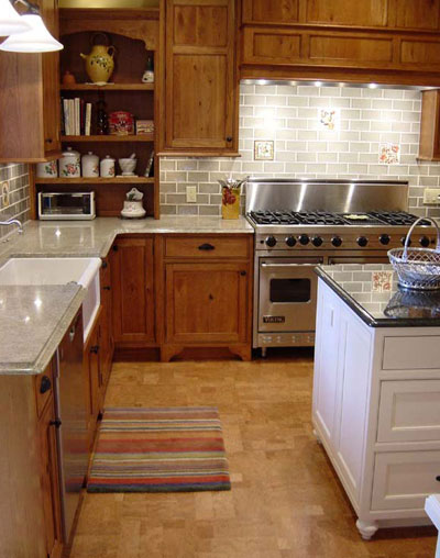 Expanko cork flooring brand review for Cork flooring kitchen reviews