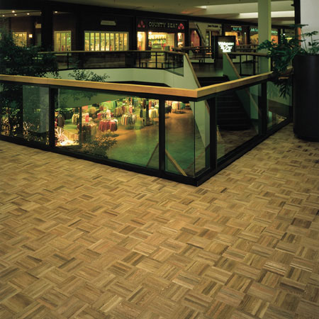 Retail Shopping Flooring Idea Hartwood Parquet Camden By Hartco