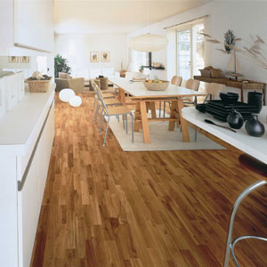 Dining Room Areas flooring idea : Oak Monte Carlo by Kährs Hardwood ...