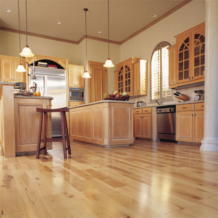 Kitchens Flooring Idea Canadian Maple Strip Colonial