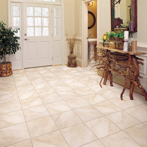 Foyers entry flooring idea aspen ceramic solutions for Foyer floor design ideas