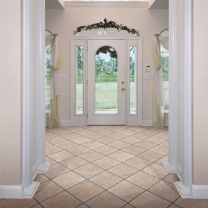 Foyers entry flooring idea ducato ceramic solutions for Entrance foyer tiles