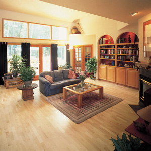 Living Rooms Designs Courtesy Of Shaw Hardwoods Flooring