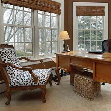 Home Office/Study - Long Island Paneling Ceilings & Floors