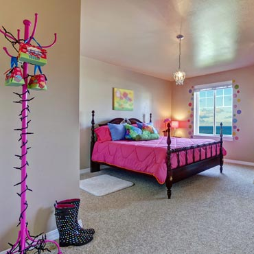 Kids Bedrooms - Color Age Carpets