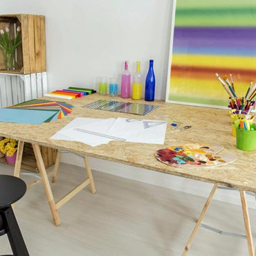 Sewing/Craft Rooms - Artistic Floors