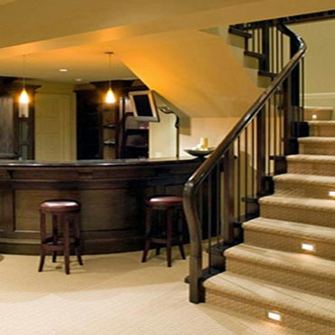 Basements - Custom Floor Covering Inc
