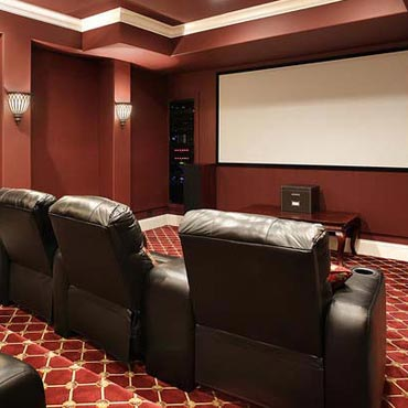 Media Rooms - Lil House Of Carpet Inc