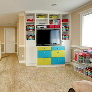 Game/Play Rooms - Con Carpet Tile & Design