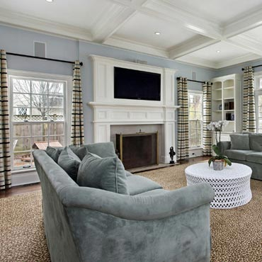Family Room/Dens - Long Island Paneling Ceilings & Floors