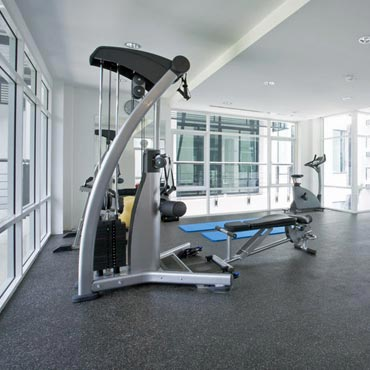 Gym/Exercise Rooms - Custom Floor Covering Inc