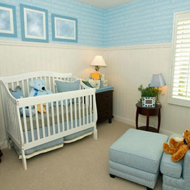 Nursery/Baby Rooms - Ashley Interiors