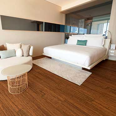 Natural BAMBOO� Flooring | Bedrooms