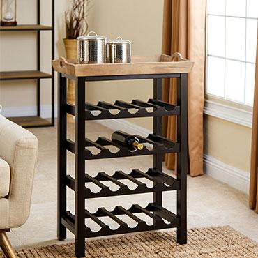 Abbyson Wine Racks
