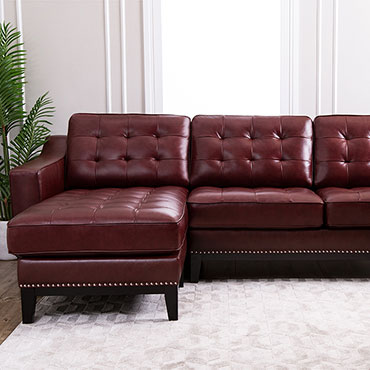 Abbyson Leather Sectionals