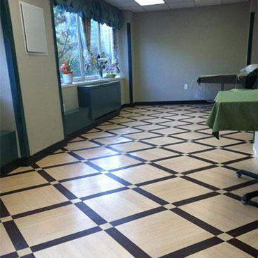Allied Resilient Flooring Insets
