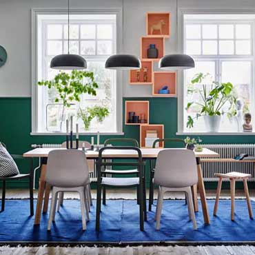 Ikea Furnishing | Dining Room Areas