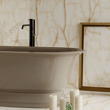 Decovita Porcelain Tile-ONYX-LEAF