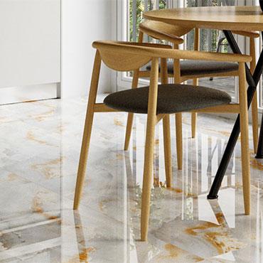 Decovita Porcelain Tile-ONYX-ORANGE