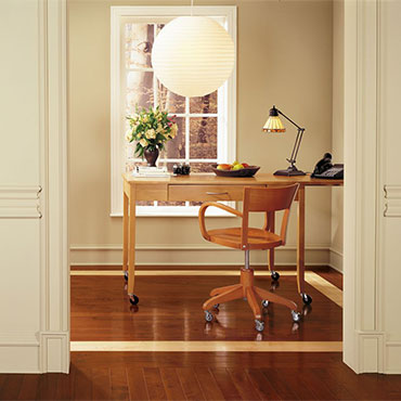 Bruce Hardwood Flooring | Home Office/Study