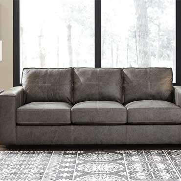 Ashley Furniture Leather Sofas/Loveseats