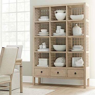 Bassett Bookcases & Open Shelving