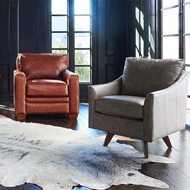 La-Z-Boy Leather Chairs