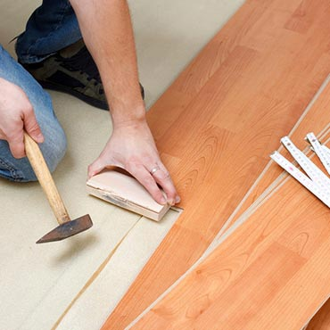 Laminate Flooring - Main Floor Covering