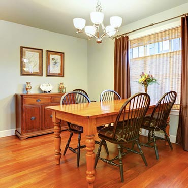 Wood Flooring - Main Floor Covering