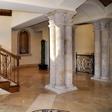 Natural Stone Floors - Ashley's Floor & Wall Center