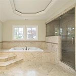 Natural Stone Floors - Abbey Carpet Buck's Decorating
