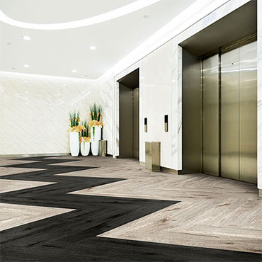 Lobbies | Milliken Luxury Vinyl Tile