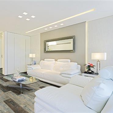 Living Rooms   COREtec Plus Luxury Vinyl Tile