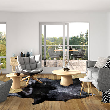 Living Rooms | Johnson Hardwood Flooring
