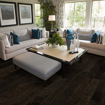Living Rooms | Hallmark Hardwood Flooring