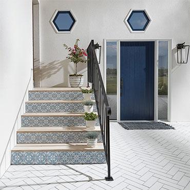 Jeffrey Court Tile | Entry/Front Porchs