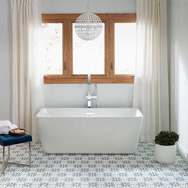 Jeffrey Court Tile | Bathrooms - 6317