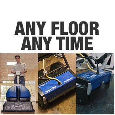 Powr-Flite Floor Machines -