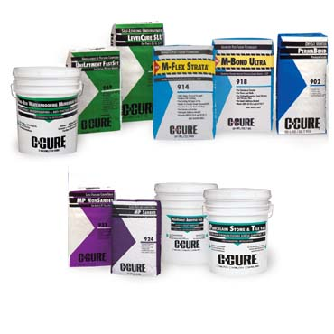C-Cure Tile & Stone Products -