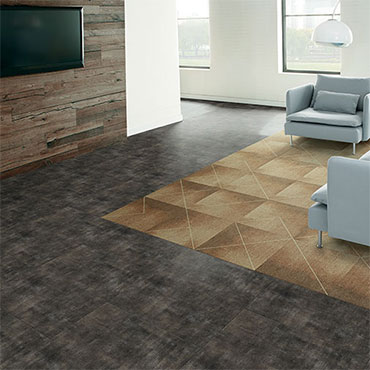 Milliken Luxury Vinyl Tile | Living Rooms