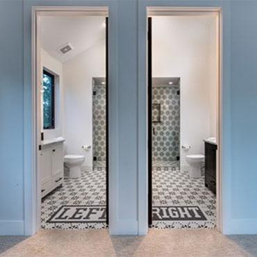 Jeffrey Court Tile   Kids Bathrooms