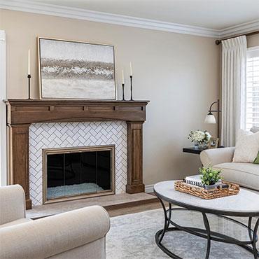 Jeffrey Court Tile | Living Rooms