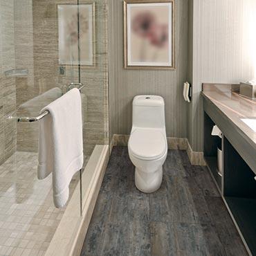 COREtec Plus Luxury Vinyl Tile | Bathrooms