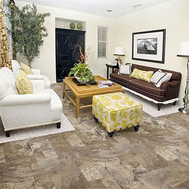 Congoleum Luxury Vinyl Flooring | Living Rooms
